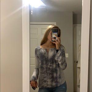 flowy, marble long sleeve